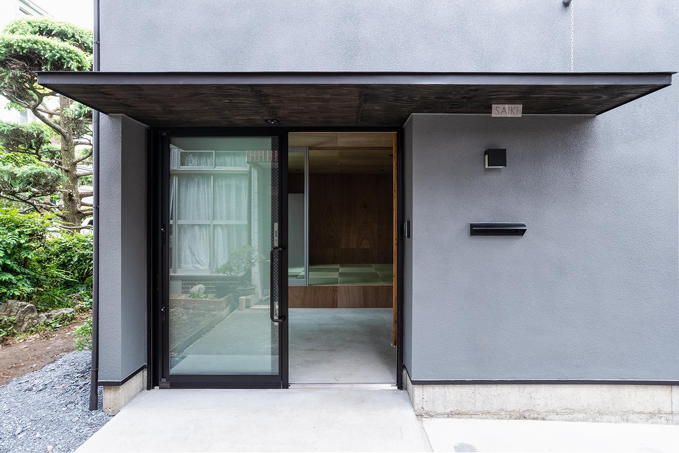 土間空間、玄関土間、デザイン、モダン、設計事務所、建築家、川崎市、神奈川、一級建築士事務所