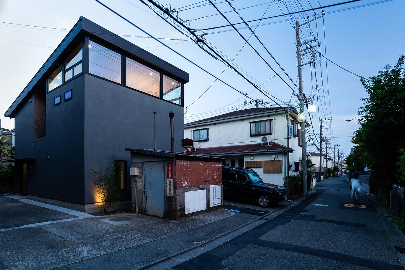 デザイン、モダン、大きな窓、設計事務所、建築家、川崎市、神奈川、一級建築士事務所