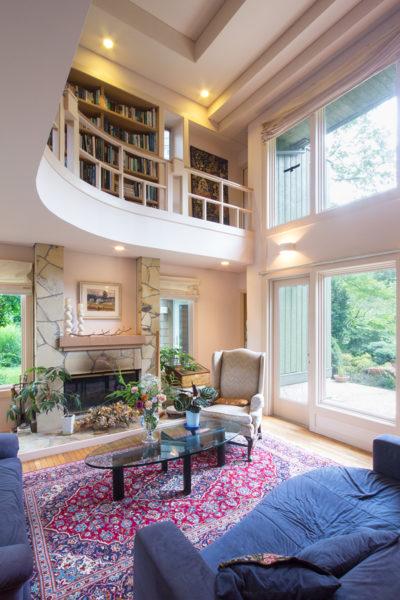 木造、個人図書館、書庫、書斎、増築、群馬、舘林、一級建築士事務所、建築家、レッドシダー、N&C、マーヴィン、木製窓