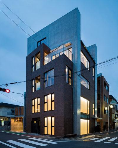 東京、品川区、神奈川県、一級建築士事務所、建築家、N&C、打ち放し、外壁タイル